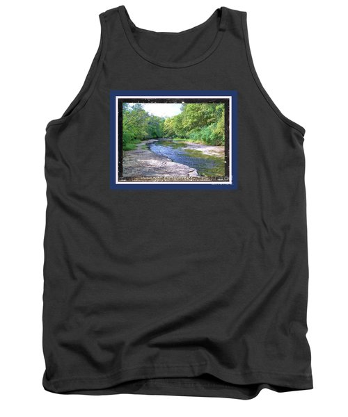 Up A Creek Tank Top by Shirley Moravec