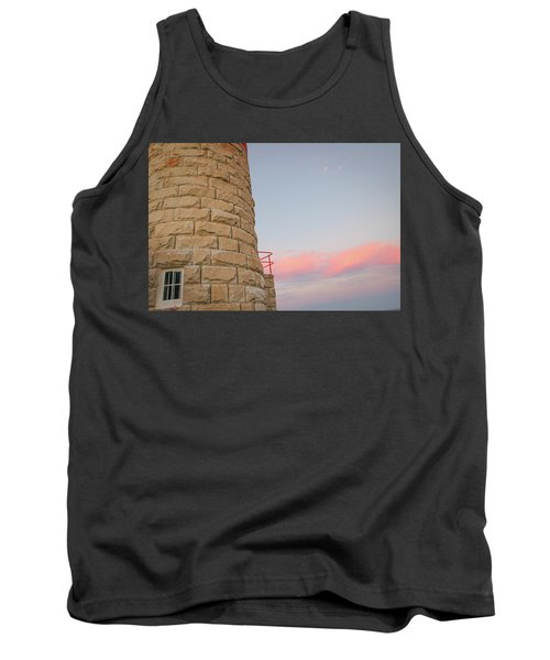 Close-up Detail Of The Cape Moreton Lighthouse Tank Top