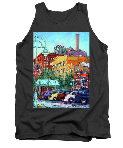 Up On Broadway Tank Top