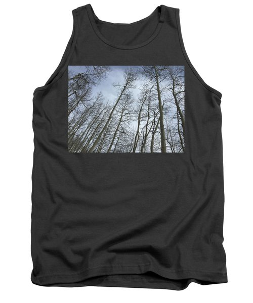 Up Through The Aspens Tank Top by Christin Brodie