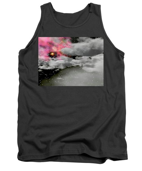 Up Through The Clouds Tank Top by Michele Wilson