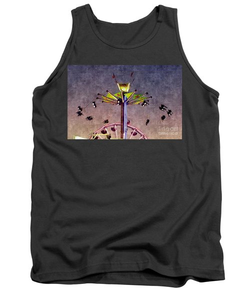 Up, Up And Away  Tank Top by Christy Ricafrente