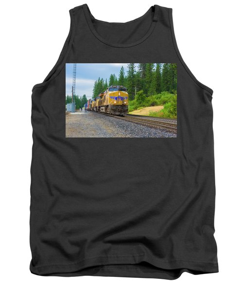 Tank Top featuring the photograph Up5698 by Jim Thompson