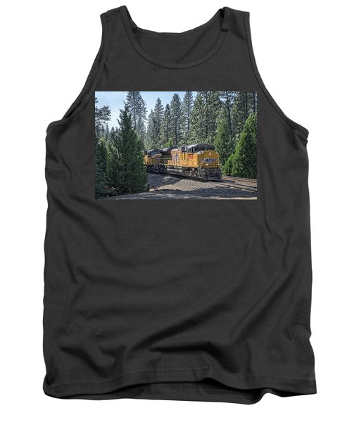 Tank Top featuring the photograph Up8968 by Jim Thompson