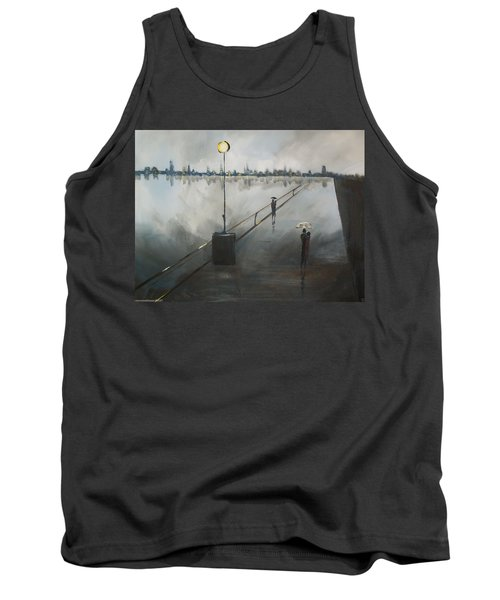 Upon The Boardwalk Tank Top by Raymond Doward