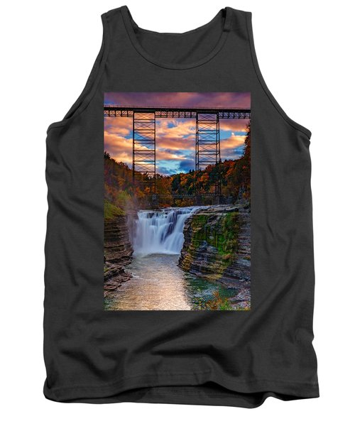 Upper Falls Letchworth State Park Tank Top