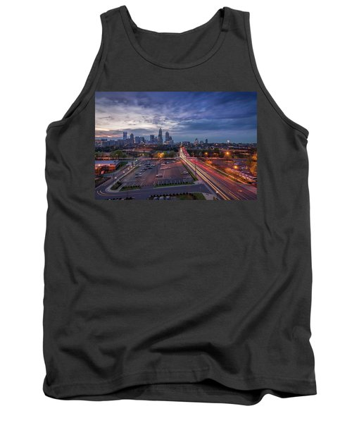 Uptown Charlotte Rush Hour Tank Top by Serge Skiba