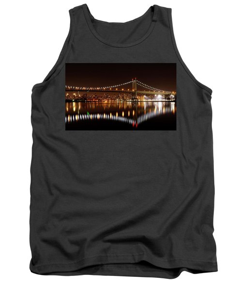 Urban Night Reflection Tank Top