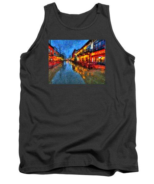 Urban Rain Reflections Tank Top