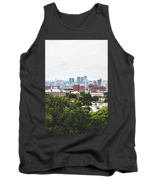 Tank Top featuring the photograph Urban Scenes In Birmingham  by Shelby Young