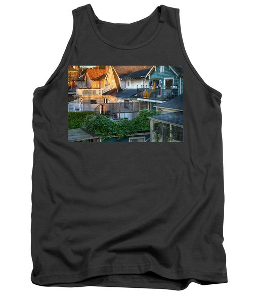 Tank Top featuring the photograph Urban Vancouver by Theresa Tahara
