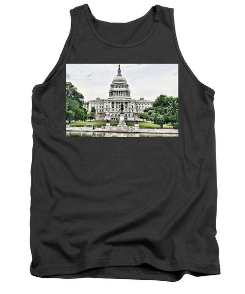 U.s. Capitol Building Tank Top