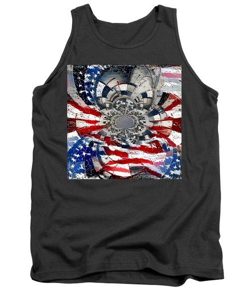 Usa Patriot Tank Top