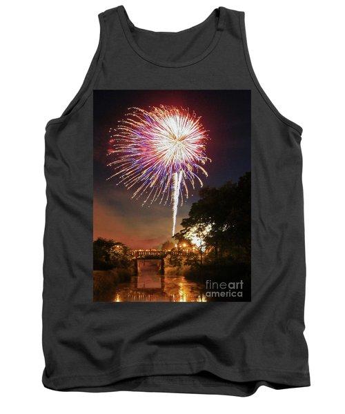 Utica Fireworks Tank Top by Paula Guttilla