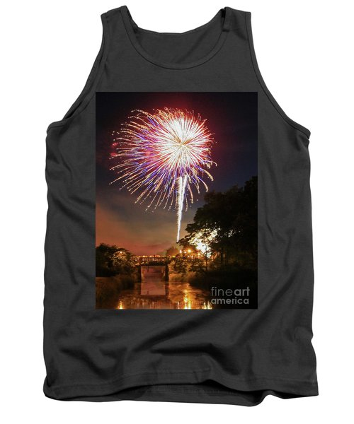 Utica Fireworks Tank Top