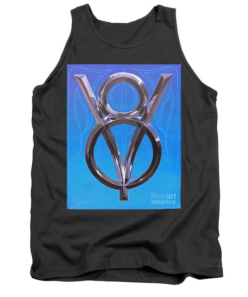 V Eight Power Tank Top