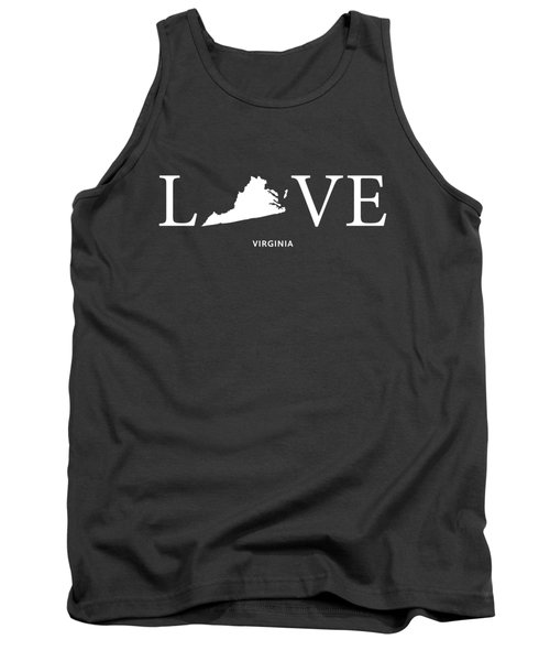 Va Love Tank Top by Nancy Ingersoll