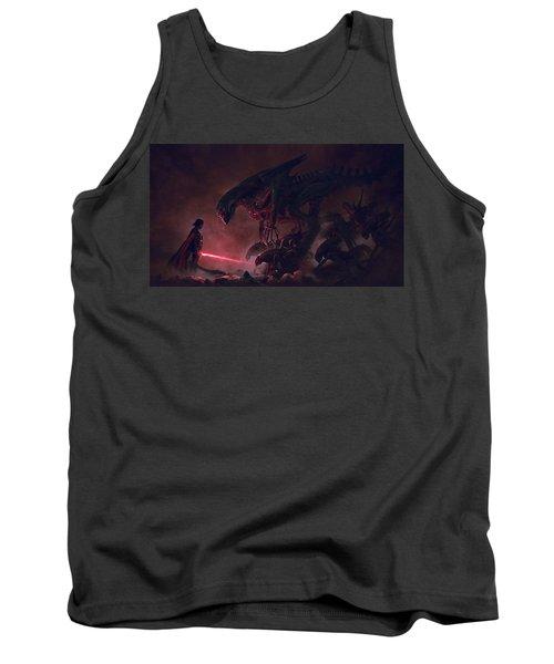 Vader Vs Aliens 4 Tank Top
