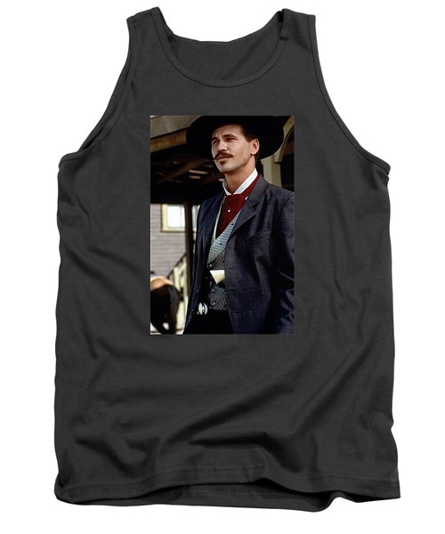 Val Kilmer As Doc Holliday Tombstone Set 1993-2015 Tank Top