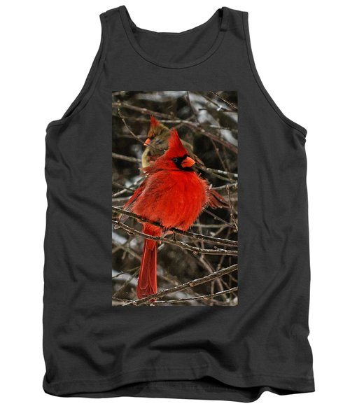 Tank Top featuring the photograph Valentines by John Harding