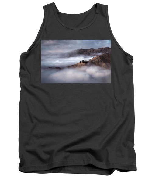 Valley In The Clouds Tank Top by Brad Grove