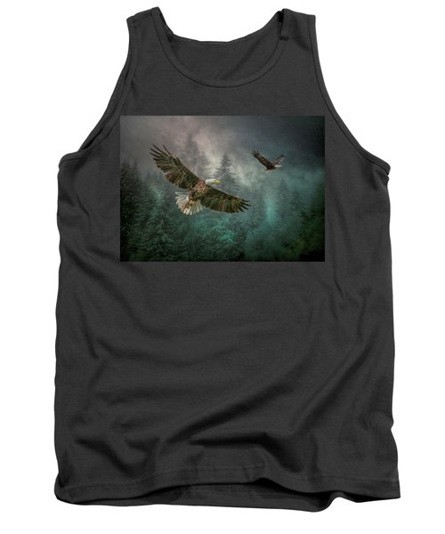 Valley Of The Eagles. Tank Top