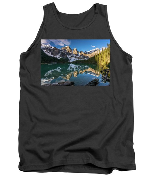 Valley Of The Ten Peaks Lake Moraine Tank Top