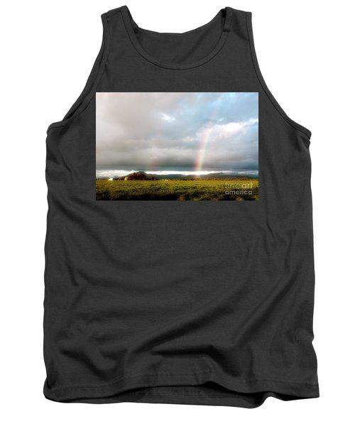 Valley Rainbows 1 Tank Top by Janie Johnson