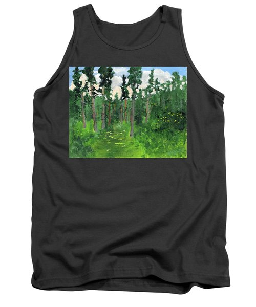 Valley Walk Tank Top by Rodger Ellingson