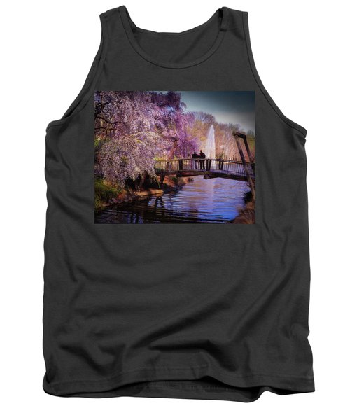Van Gogh Bridge - Reston, Virginia Tank Top