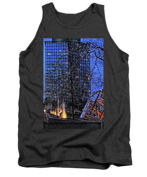 Vancouver - Magic Of Light And Water No 1 Tank Top by Ben and Raisa Gertsberg