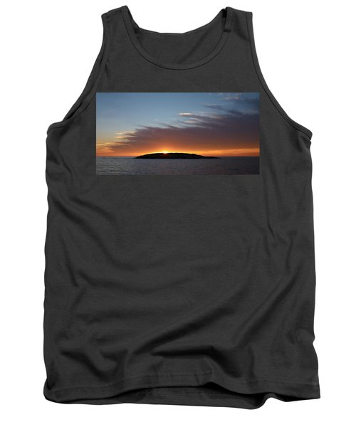 Tank Top featuring the photograph Variations Of Sunsets At Gulf Of Bothnia 1 by Jouko Lehto