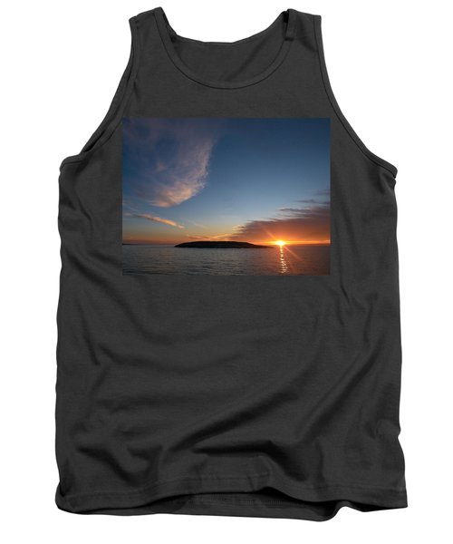 Tank Top featuring the photograph Variations Of Sunsets At Gulf Of Bothnia 2 by Jouko Lehto