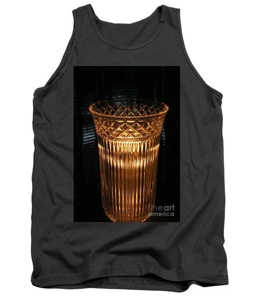 Vase In Amber Light Tank Top