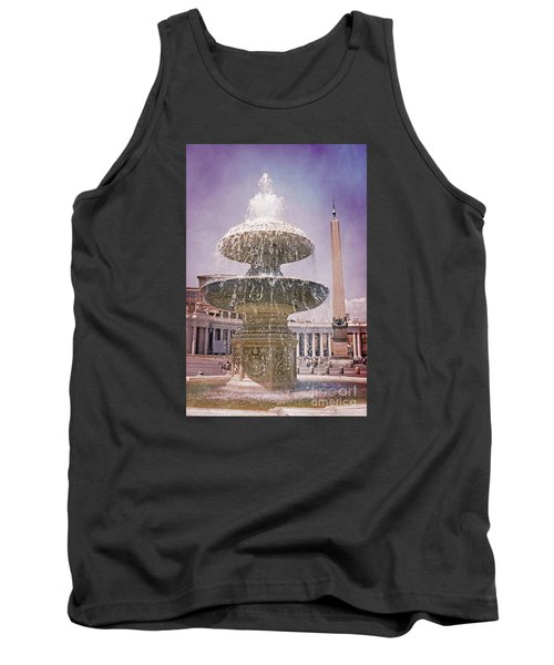 Vatican City Fountain Tank Top
