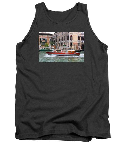 Venetian Ambulance Tank Top by Mariarosa Rockefeller