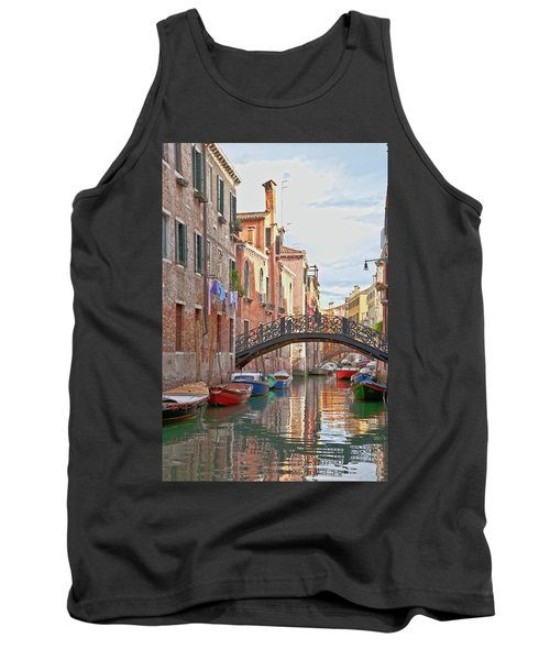 Venice Bridge Crossing 5 Tank Top