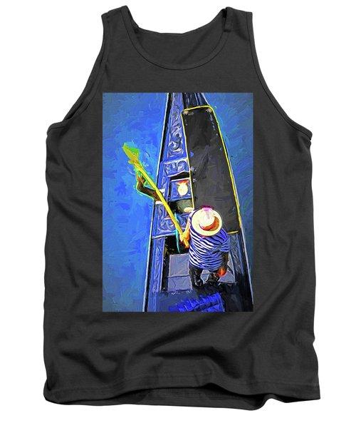 Venice Gondola Series #4 Tank Top