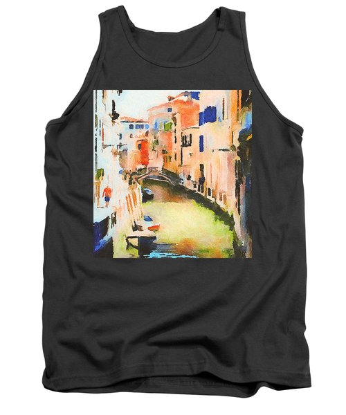 Venice On Waters Tank Top