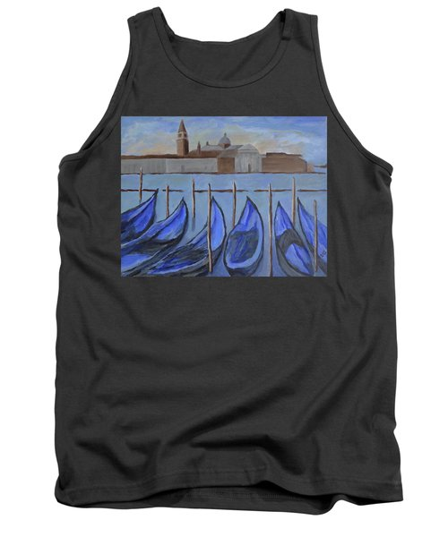 Tank Top featuring the painting Venice by Victoria Lakes