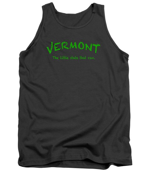 Vermont The Little State Tank Top by George Robinson