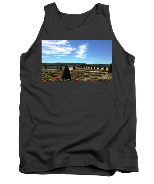 Versailles Palace Gardens Tank Top by Therese Alcorn