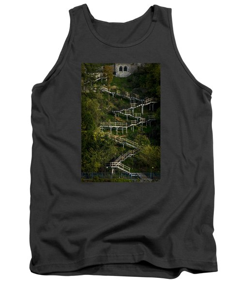 Vertical Stairs Tank Top by Celso Bressan