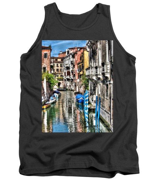 Viale Di Venezia Tank Top by Tom Cameron