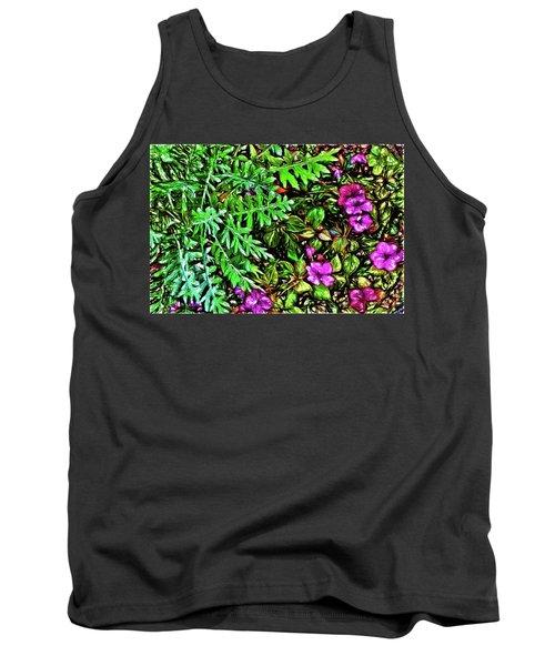 Vibrant Garden Tank Top