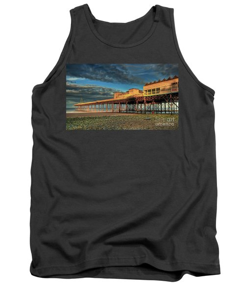 Tank Top featuring the photograph Victoria Pier 1899 by Adrian Evans