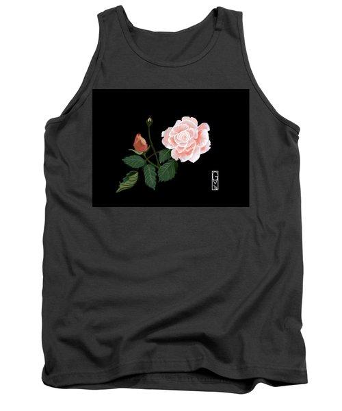 Victorian Rose Tank Top