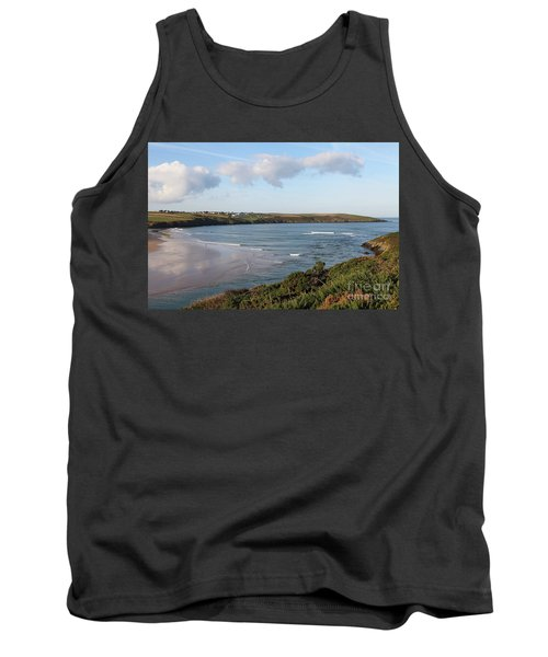 Tank Top featuring the photograph View Across The Gannel Estuary by Nicholas Burningham