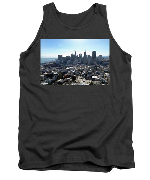 View From Coit Tower Tank Top by Steven Spak