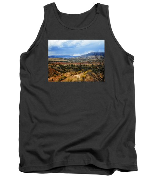 Tank Top featuring the photograph View From Ghost Ranch, Nm by Kurt Van Wagner
